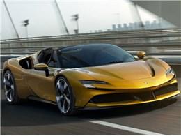 >フェラーリ SF90スパイダー 2021年モデル