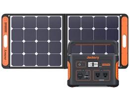 Jackery ポータブル電源 708+SolarSaga 100