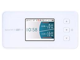 Speed Wi-Fi 5G X11 [スノーホワイト]