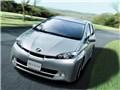 オプション装着車 走行イメージ シルバーメタリック - WISH 2009年モデル