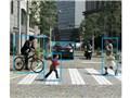 中での障害物の認識イメージ - レガシィ アウトバック 2009年モデル