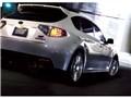 オプション装着車 走行イメージ サテンホワイト・パール10 - WRX STI 5door 2007年モデル