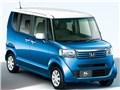 エクステリア プレミアムダイナミックプルー・パール×タフタホワイト1 - N-BOX + 2012年モデル