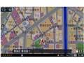 『ルート画面1』 楽ナビ AVIC-MRZ099の製品画像