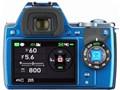『本体 背面』 PENTAX K-S1 300Wズームキット [ブルー]の製品画像