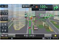 『ルート画面1』 楽ナビ AVIC-RZ09の製品画像