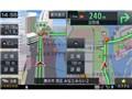 『ルート画面1』 楽ナビ AVIC-RZ99の製品画像