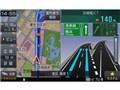 『ルート画面2』 楽ナビ AVIC-RZ99の製品画像