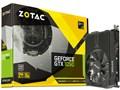 ZOTAC GeForce GTX 1050 2GB Mini ZT-P10500A-10L [PCIExp 2GB]の製品画像