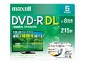 DRD215WPE.5S [DVD-R DL 8倍速 5枚組]
