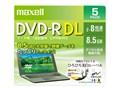 DRD85WPE.5S [DVD-R DL 8倍速 5枚組]
