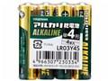 アルカリ乾電池 単4形 4本入 LR03Y4S