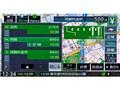 『ルート画面3』 彩速ナビ MDV-M805Lの製品画像