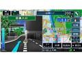 『ルート画面1』 彩速ナビ MDV-M705Wの製品画像