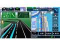 『ルート画面2』 彩速ナビ MDV-M705Wの製品画像