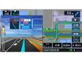 『ルート画面4』 彩速ナビ MDV-M705Wの製品画像