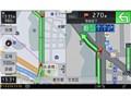 『ルート画面2』 サイバーナビ AVIC-CZ902の製品画像