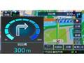 『ルート画面4』 彩速ナビ MDV-D505BTWの製品画像