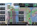 『ルート画面4』 楽ナビ AVIC-RZ102の製品画像