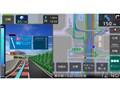 『ルート画面2』 彩速ナビ MDV-M907HDFの製品画像