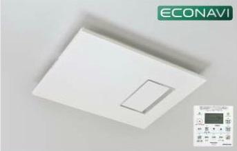 ナノイー搭載カビシャット暖房換気乾燥機(200V 床暖連動)