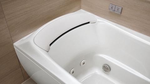 お掃除ラクラク人大浴槽