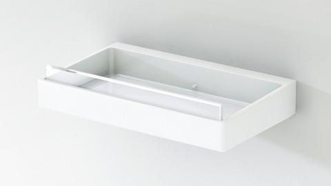 セパレート収納棚2段[ホワイト]