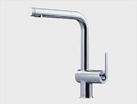 タッチスイッチ水ほうき水栓LF(ハンドシャワー式・エアイン)