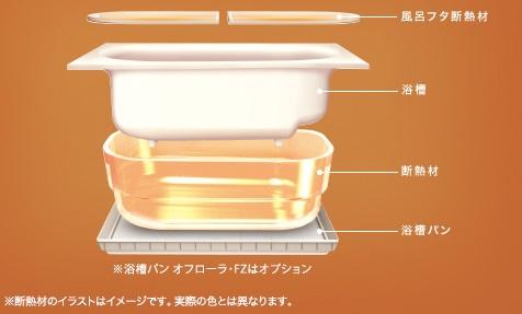 保温浴槽�U