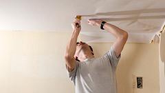 リビングの天井・壁の壁紙(クロス)を交換