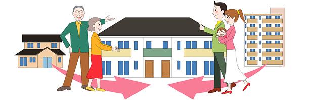 高まる二世帯住宅へのニーズ