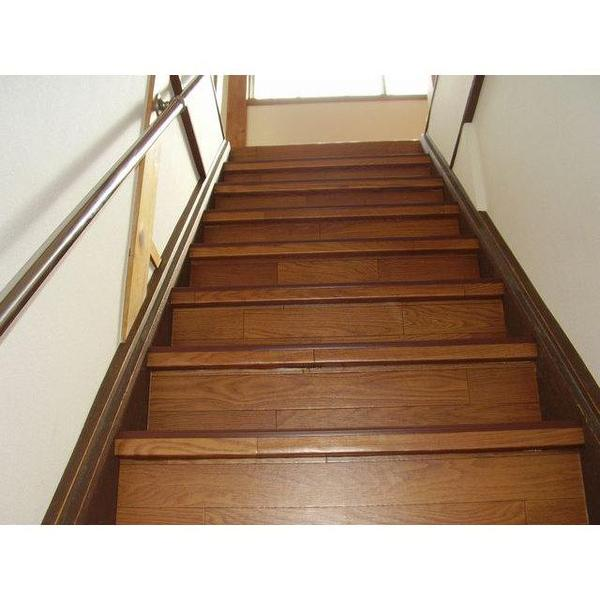 施工後の階段