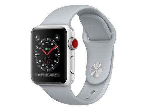 Apple Watch Series 3 GPS+Cellularモデル 38mm スポーツバンド