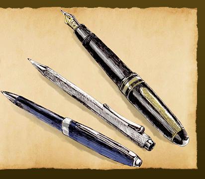 そろそろ相棒、見つけませんか 高級筆記具のススメ