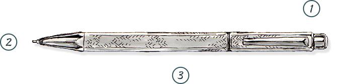 高級シャープペンの選び方3つのポイント