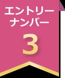エントリーナンバー3